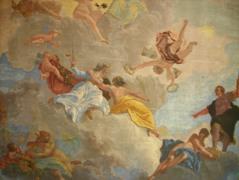 Venezia - Palazzo Diedo - Allegoria della Giustizia